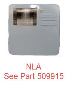 Water Heater - Door - 6 Gal - White