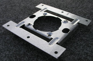 Vacuum - Mounting Plate - Installation Part - Dirt Devil Central Vac