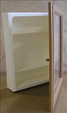 Cabinet Medicine - Surface Mount - Square - Oak