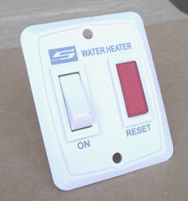 Water Heater - Switch - 232795 - Ivory