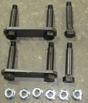 Axle - Complete Shackle Kit - Single - A/P-122-00 - Dexter