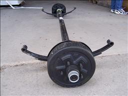 Axle - 3500# - Sprung - D35 - 5 Lug - 10 x 2.25 Elec Brake