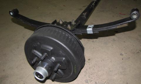 Axle - 3500# - Straight - 5 Lug - TM - UL - 10