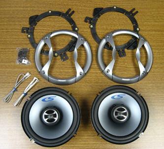 Radio - Speaker - Coaxial - 6 1/2