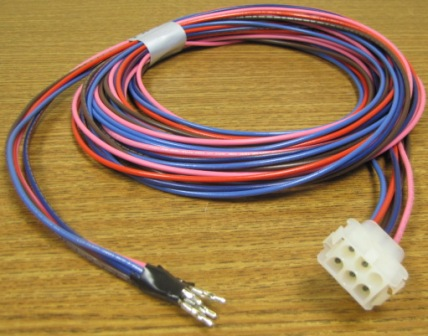 Wire - Harness - 15' - 6 Circuit Plug - w/5 Wires