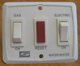 Water Heater - Switch - Dual - SW6DEL/SW10DEL - Suburban