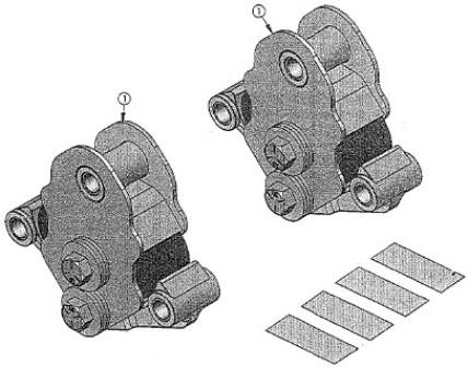 Axle - Tandem Equa Flex - For 29 1/2