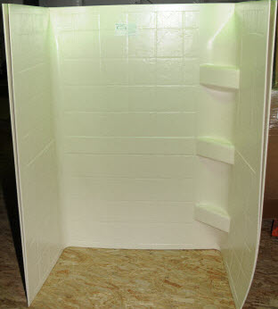 Trekwood Rv Parts Cougar 2009 Plumbing Shower Tub
