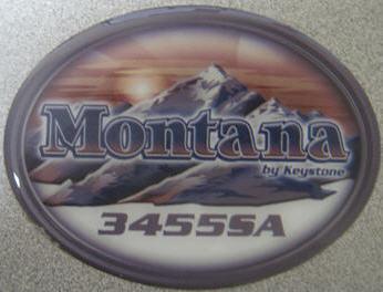 Trekwood Rv Parts Montana 2011 Graphics Labels Decals