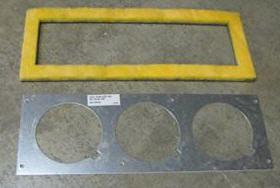 Furnace - Plate - 3 Hole - w/Gasket - 520731 - Suburban