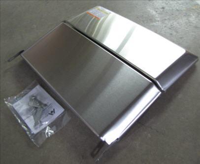 Range - Cover - Stainless - Bi-Fold - BFC2-S - (1 Pack)