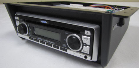 Radio - Jensen - AM/FM/CD - In Housing - w/Speaker Switch - Undermount