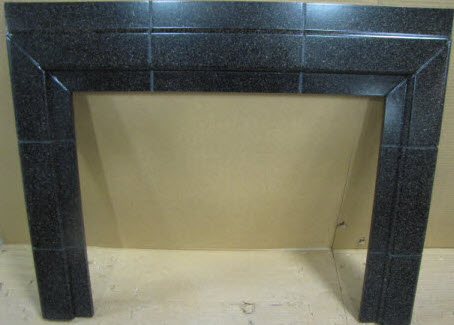Trim - Fireplace - Surround - E-Stone - Coffee