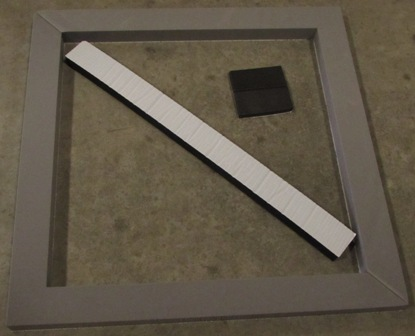 A/C - Gasket - Roof - For All Coleman-Mach - 8332-3301
