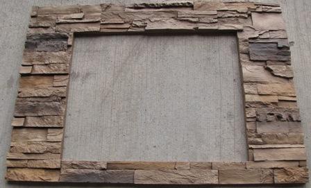 Trim - Fireplace - Surround Trim - Faux Stone - 29