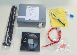 A/C - Control Kit - Digital/LCD - Cool - Furnace - 3313189.015 - Black - Dometic