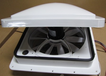 Vent - Roof - 12V - Variable Speed - Auto Lift - Single