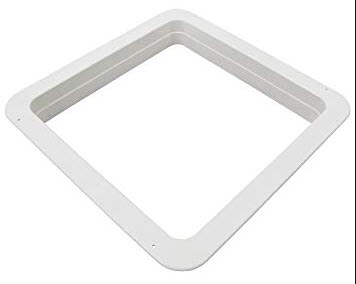 Vent Garnish 4 12 Ring White Plastic: Fantastic 6500 Vent Wiring Diagram At Outingpk.com