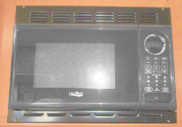 Microwave Trim Kit Black For 0 9cf High Point