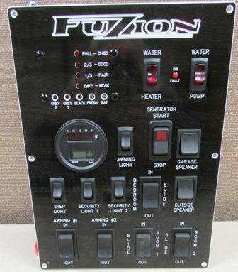 Trekwood Rv Parts Fuzion 2015 Electrical Monitor Panel