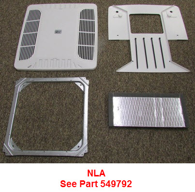 A/C - Chillgrille Cool Only - Ceiling Plenum - No Nodule