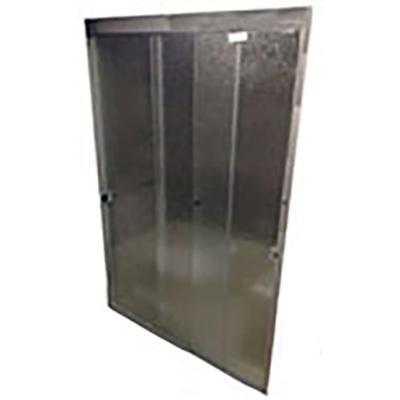 "Shower - Door - 36"" x 64"" - Triple Sliding Shower Enclosure - Aquatex Glass ..."