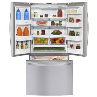 Trekwood Rv Parts Redwood 2016 Appliances Refrigerator